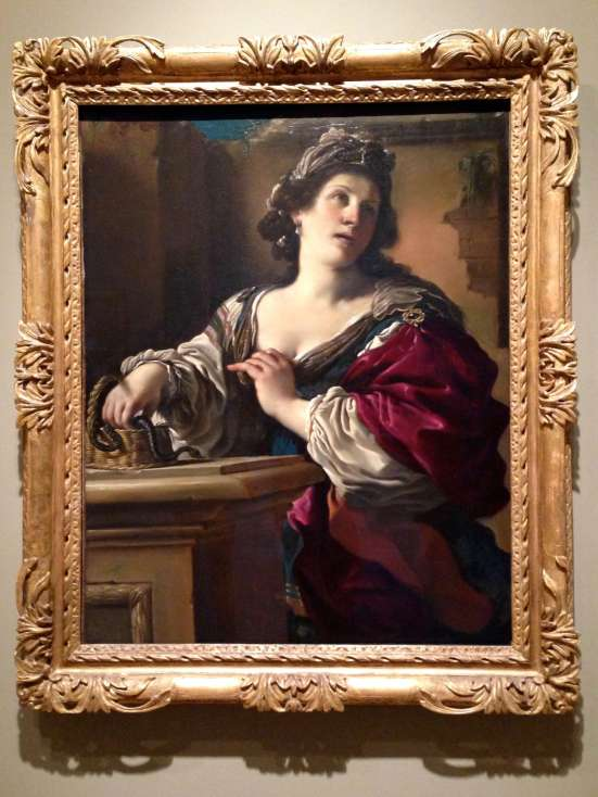 Suicide of Cleopatra - Guercino
